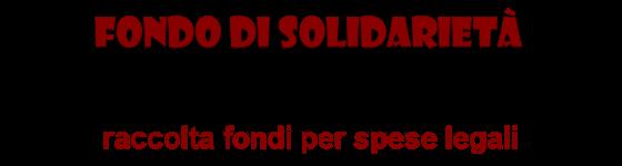Partecipa al Fondo di Solidarietà...