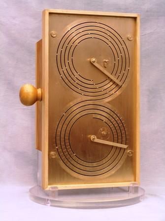 il modello del calcolatore di Antikythera